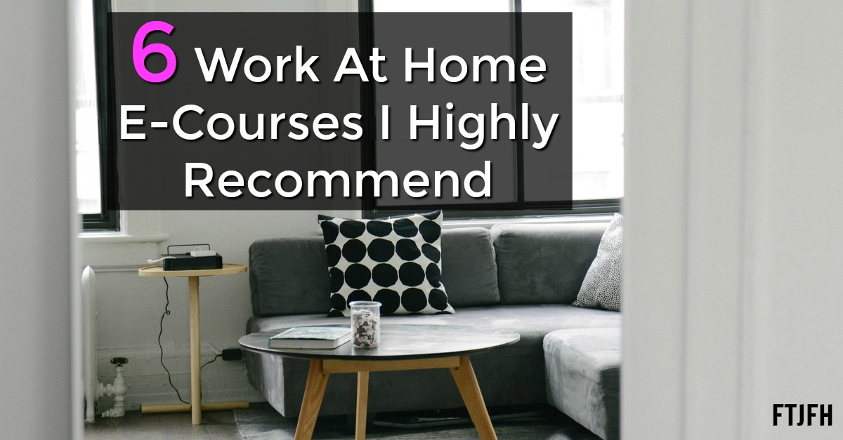 Are you looking for a work at home job? Don't have the skills you need? Here's a list of work at home courses that can help you land your dream work at home job!