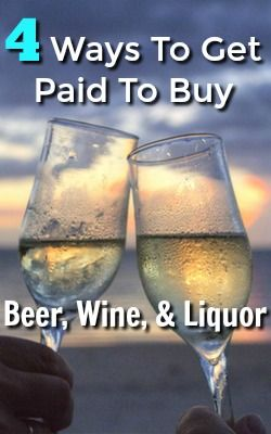Do you purchase beer, wine, or liquor? Might as well earn cash back on it. Here're 4 different sites that pay you to buy beer, wine, and liquor!