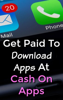 Did you know you could get paid to download apps? With Cash On Apps You Can Earn Money Just By Downloading Your Favorite Apps!
