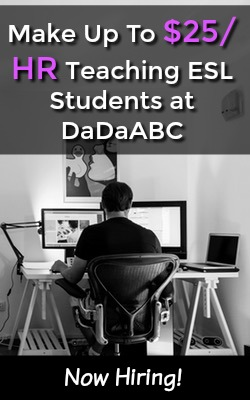 Learn How You Can Make Up To $25 an Hour Tutoring ESL Students at DaDaABC!