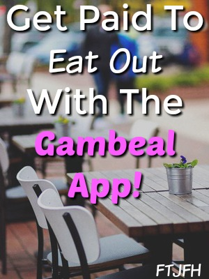 Did you know you could be getting paid to dine out? All you need to do is keep your receipt and upload it inside the Gambeal App to Earn Cash Via PayPal!