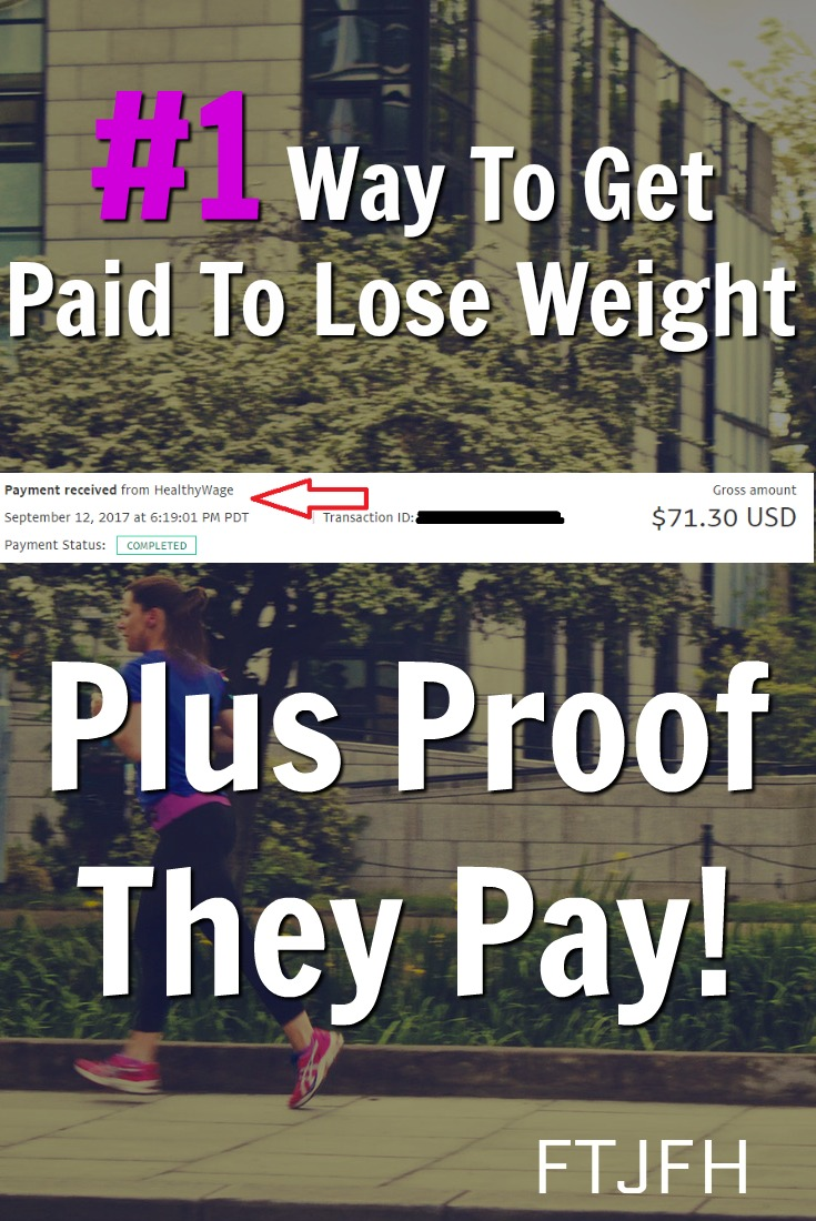 Learn how you can get paid to lose weight! I'll even show you proof that they pay!