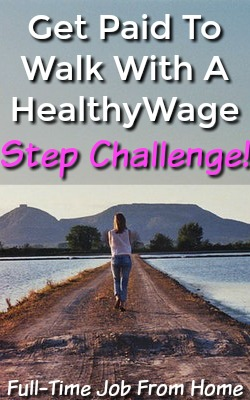 Did you know you could get paid to walk and be more active? With a HealthyWage Step Challenge you can and you can earn up to 3X your bet and get paid via PayPal!