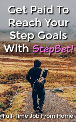 Did you know you could make money by being active and reaching your step goals? With StepBet you can earn cash by reaching your goals!