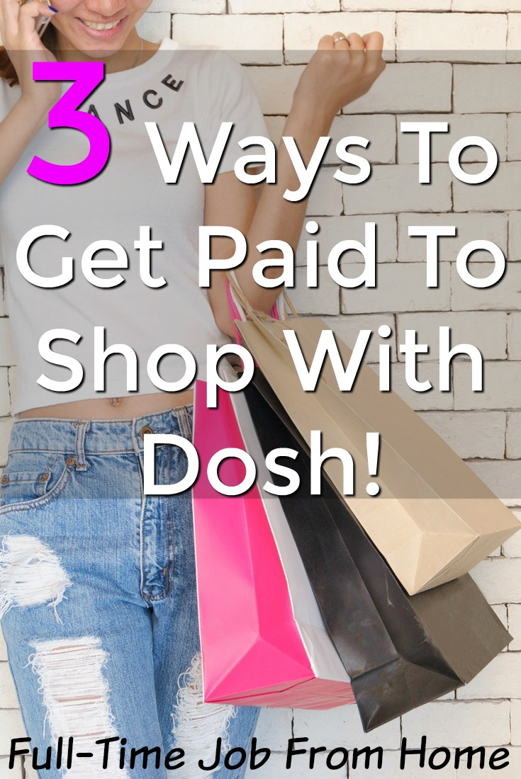 Learn How You Can Get Paid to shop in-store, online, and to book hotels with the Dosh App. They pay via PayPal and Direct Deposit and are completely legitimate!