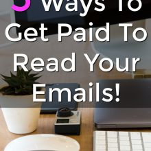 Did you know you could get paid to read emails? With these 5 extra income sites you can earn a side income just by opening their emails!