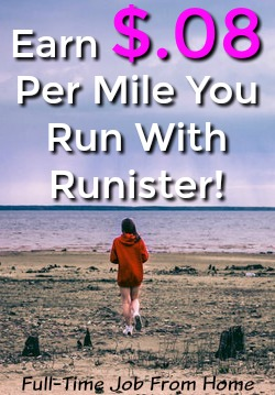 Do you like to run? Learn How You Can Earn $.08 For Every Mile You Run While Using the Runister App! Get Paid Via PayPal Once You Earn $5!