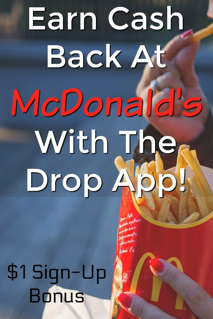 Learn how you can automatically earn cash back to places like McDonald's, Walmart, Target, and many more with the Drop app!