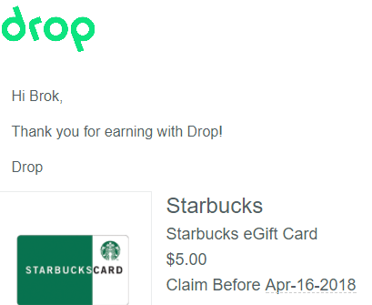 drop app payment proof