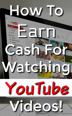Did you know you can earn cash watching videos on YouTube? Learn How You Can Earn Payments Via PayPal for Watching YouTube Videos!