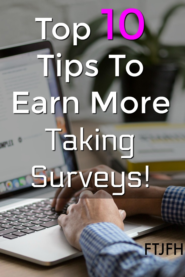 If you want to make money online taking surveys is a legitimate way to do so. Here're 10 tips to maximize your online survey income!