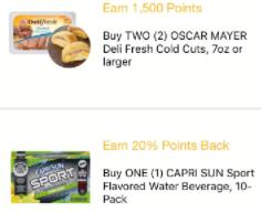 fetch rewards special offers