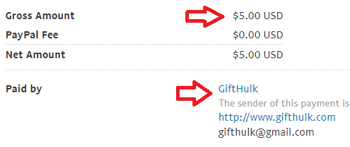 gifthulk payment proof