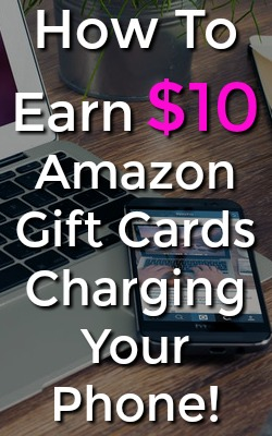 Learn how you can earn $10 Amazon gift cards by charging your phone with the GiftLoop app!
