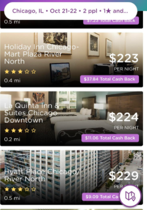 make money booking hotels dosh app