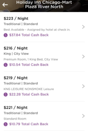 earn cash by booking hotels dosh app