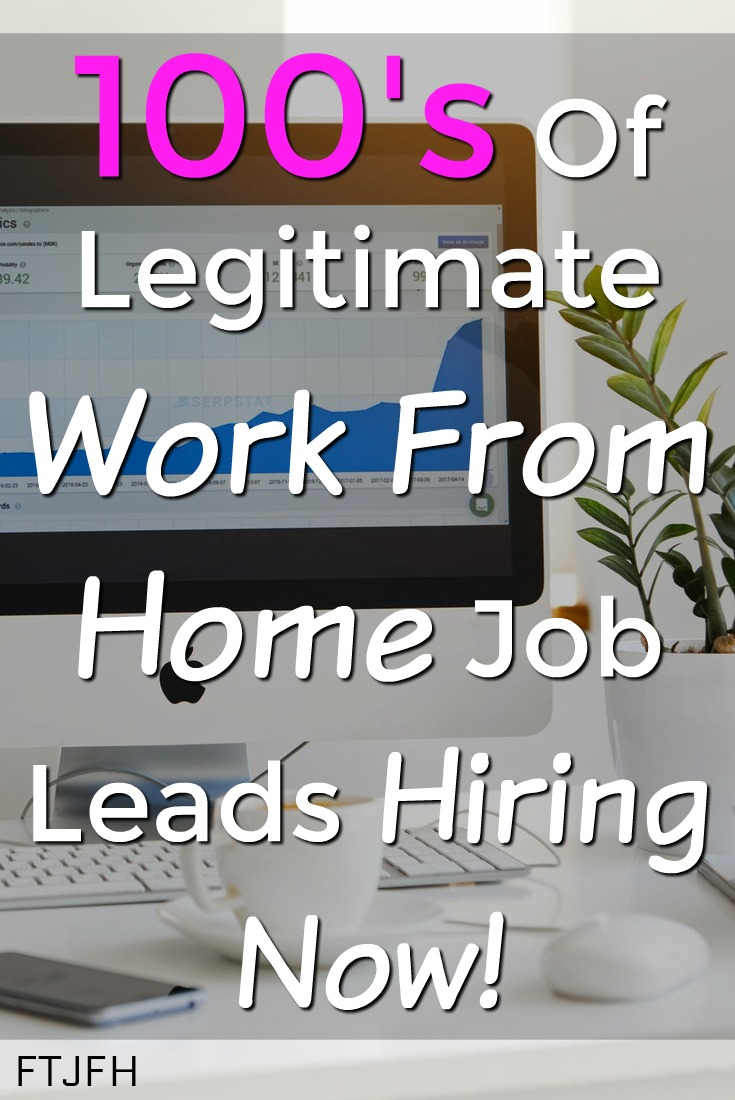 Are you looking for a work from home job? Check out my up to date list of all the work at home positions currently hiring now!