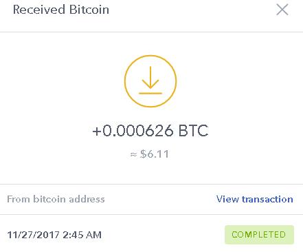 bitcoinreward payment proof