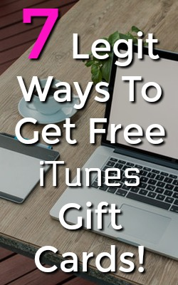 Do you use iTunes? Want Free gift cards? Here're 7 legitimate free ways to get iTunes gift cards!