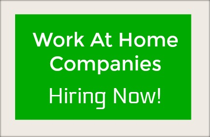 work at home job leads hiring now work from home
