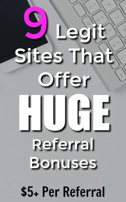 One of the easiest ways to earn money online is by referring your friends to sites you use. Make sure you're using sites that pay the most. Here're 9 legitimate extra income sites that pay the most for referrals!