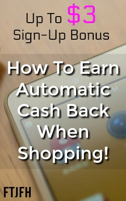 Did you know you can earn automatic cash back without scanning receipts? With these two apps you can earn up to a $3 sign-up bonus plus 2%-10% cash back at your favorite stores!