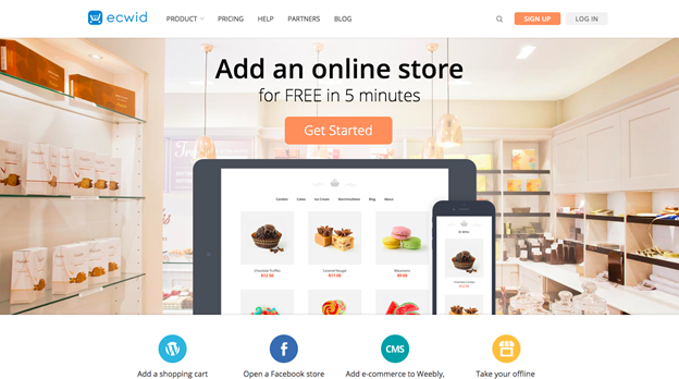 build an online store for free