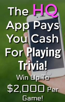 Learn how You can win cash just by playing trivia on the HQ app. Get paid directly to your PayPal account!