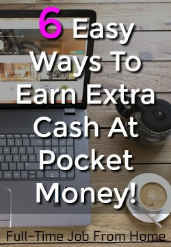 Are you looking to make some extra cash. Use these 6 easy ways to make money and cash out via PayPal once you earn $1!