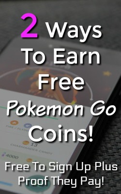 Do you play Pokemon Go? Here're 2 easy and free ways you can earn Pokemon Go Poke Coins!