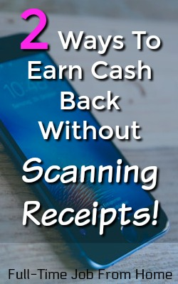 Learn How You Can Earn Automatic Cash Back Without Scanning Receipts! Get paid via PayPal!