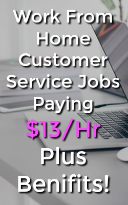 Learn how you can work from home as a phone customer service agent at ABC Financial and make up to $13 and Hour Plus Benefits!