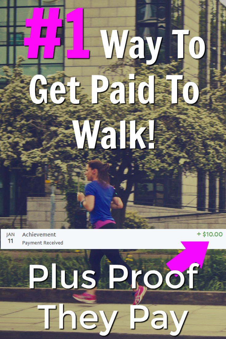 Did you know you can earn cash via PayPal just for downloading an app and walking? With Achievement you can! I'll even show you proof that they pay!