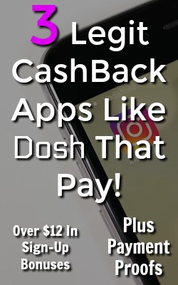 Dosh is one of my favorite cashback apps, but it's not the only legitimate app available. Make sure to check out these 3 similar apps to earn over $12 in sign up bonuses and see my payment proofs!