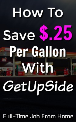 Did you know you could be saving up to $.25 per gallon everytime you fill up your car with gas? Learn how when you join the GetUpside App!