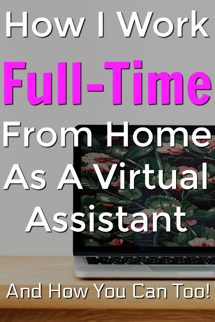 If you're looking for a legitimate way to work at home you might be interested in becoming a virtual assistant. Learn How I work full-time from home as a VA and the course you can take to get started too!
