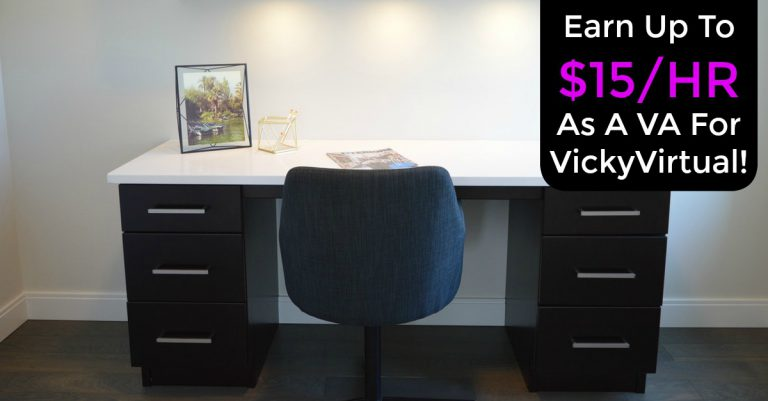 Learn how you can work from home full-time as a virtual assistant at VickyVirtual!