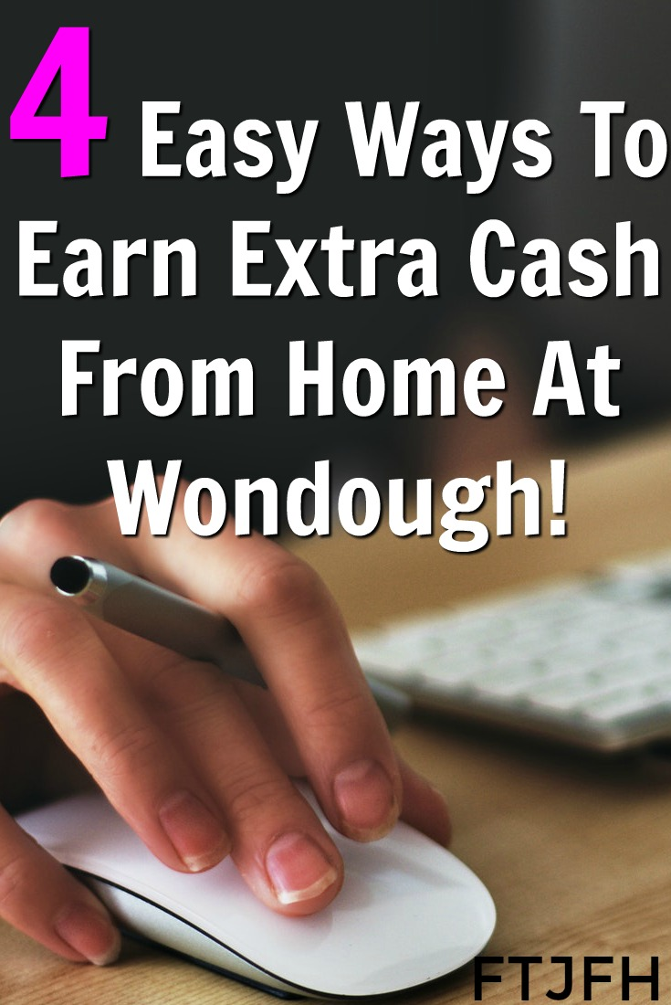 Learn How You Can Make Easy Extra Cash With Wondough a New Rewards Site That Pays Via Amazon Gift Card Starting At $3!