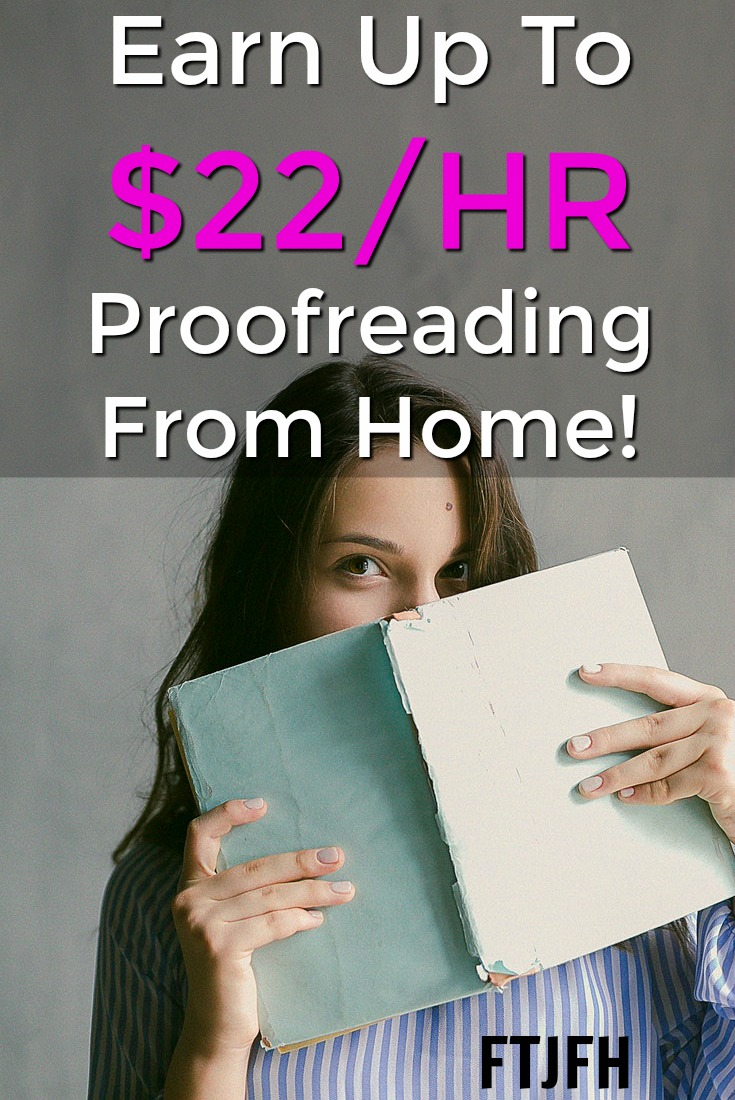 Did you know you could work from home proofreading documents. At ProofreadingPal you can earn up to $22 an hour!