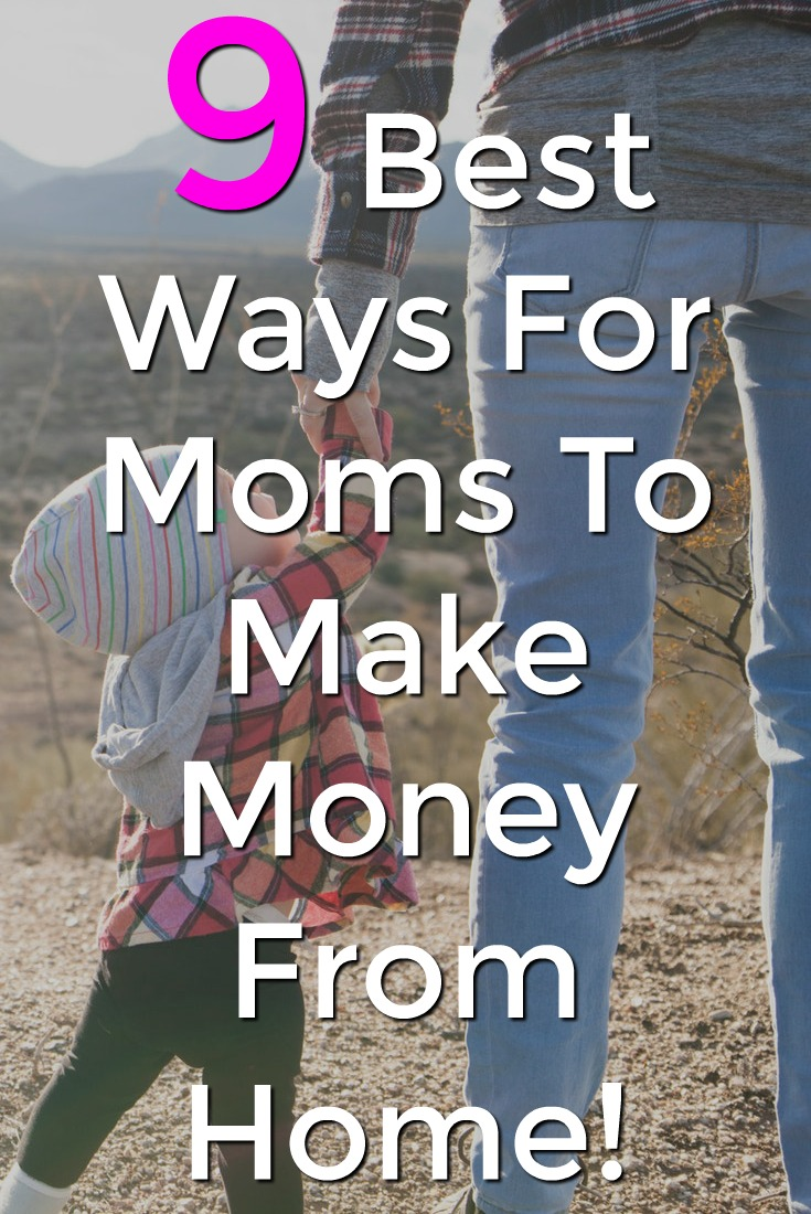 Are you a busy mom looking to make an extra income from home? Here're 9 ideas that you can do in your spare time to bring in a decent part-time income!