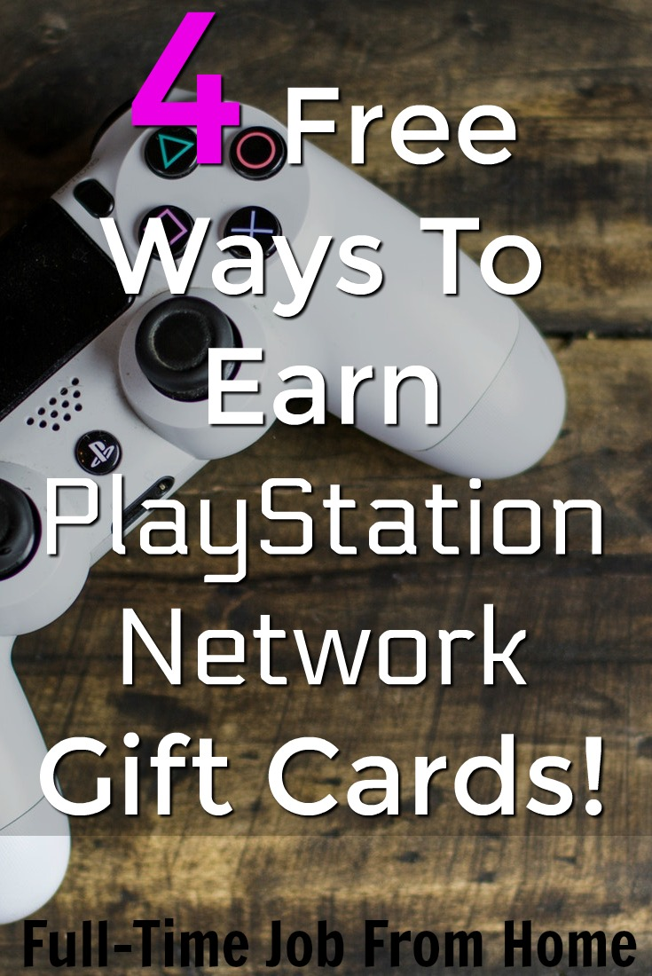 Are you looking for a free way to earn PlayStation gift cards? Here're 4 free sites that you can free PSN codes!