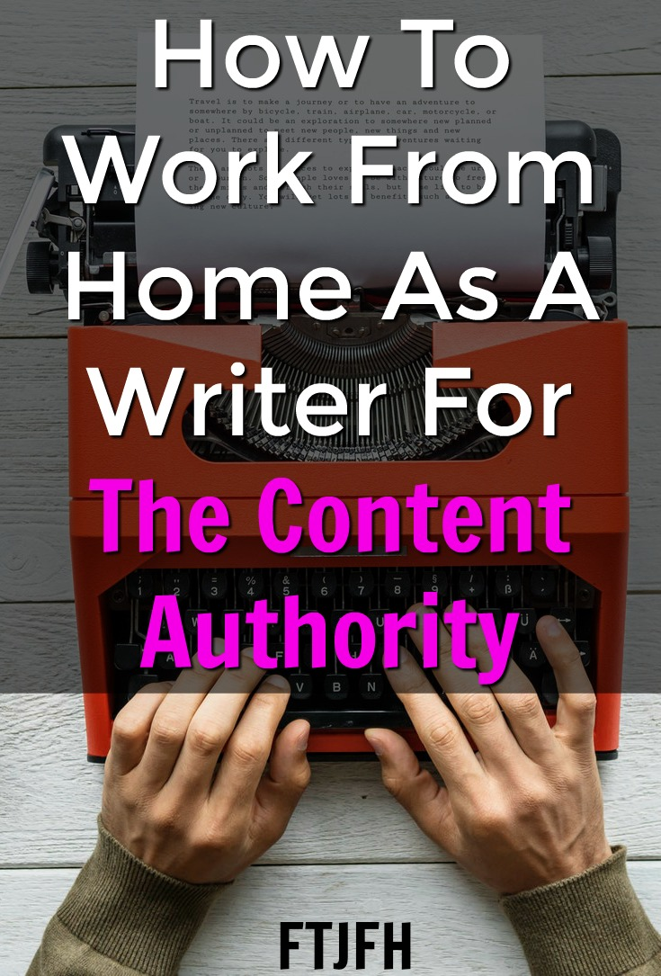 Learn How You Can Work From Home As A Freelance Writer For the Content Authority!