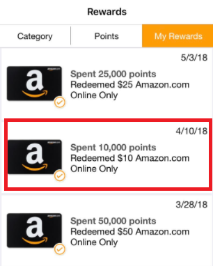 fetch rewards app payment proof