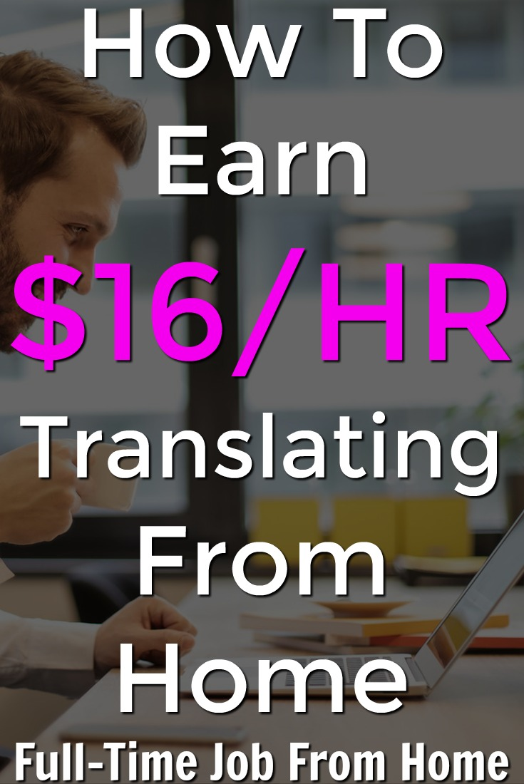 Learn How You Can Work From Home and Earn $16/HR Translating For Language Scientific!