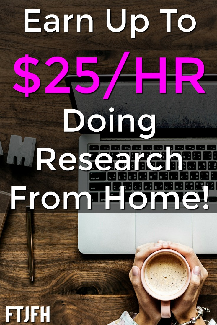 Learn How You Can Earn Up To $25 an Hour From Home Doing Research For Ask Wonder!