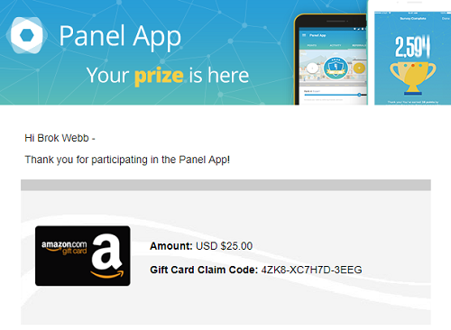 panel app payment proof