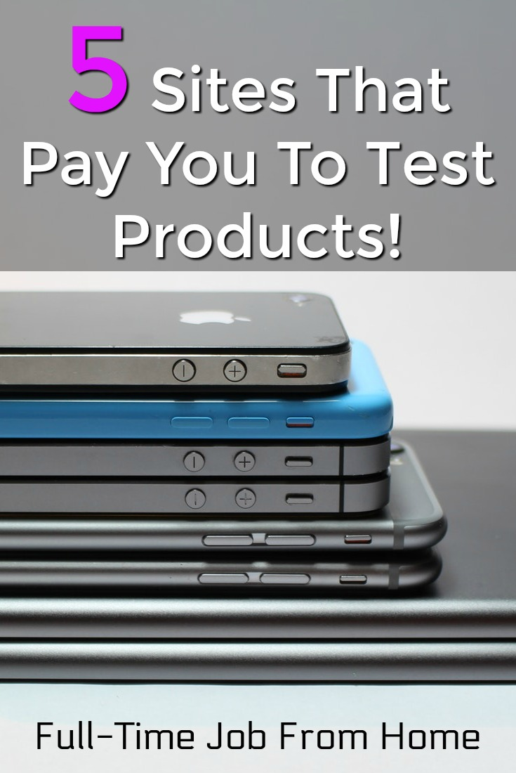 Did you know that you could get paid to test products? Here're the top 5 legitimate sites that will pay you to test products and let you keep them!
