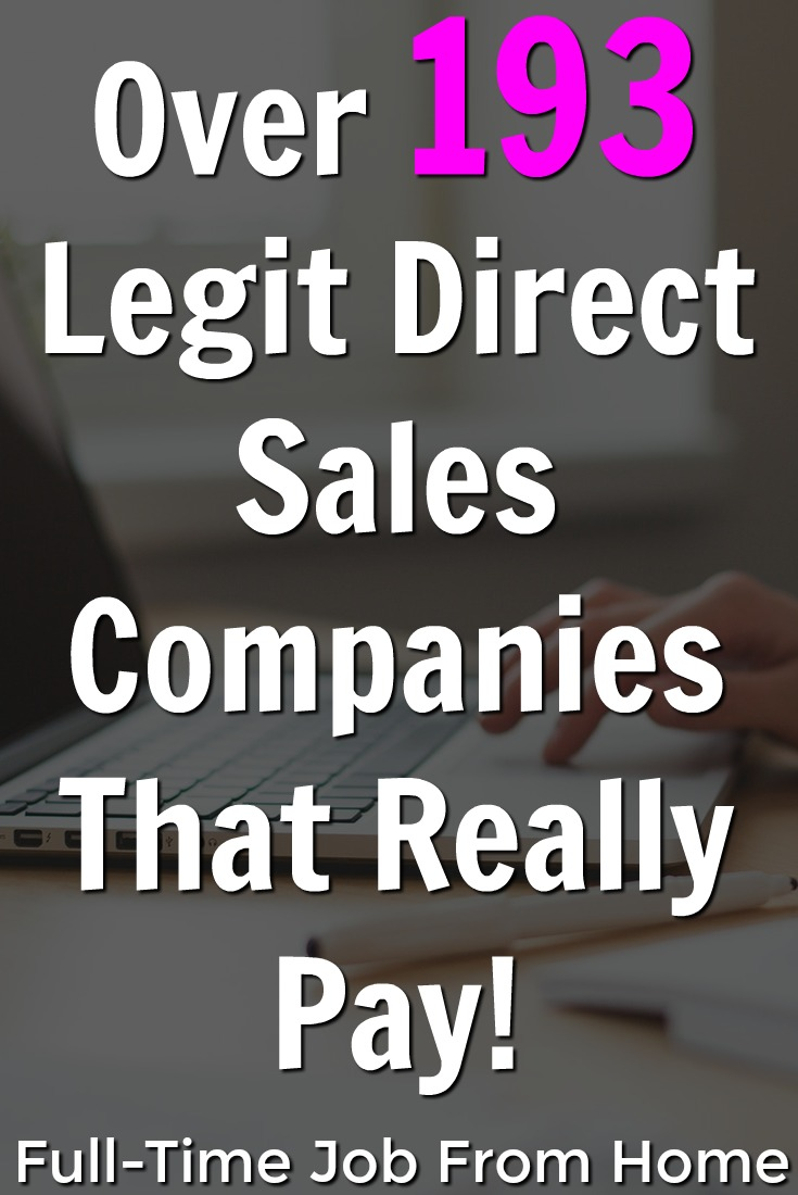If you're looking to start your own business you might be interested in Direct Sales! Here's a list of over 190 legitimate direct sales companies that pay broken down by category!