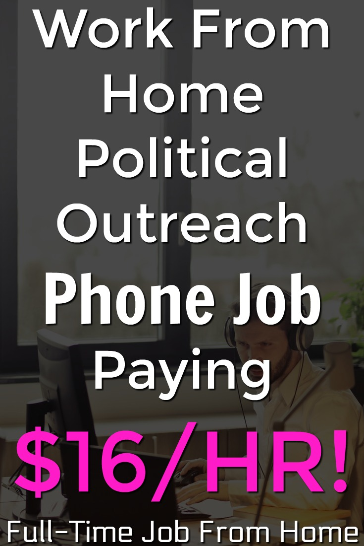 Learn How You Can Work From Home Making Political Outreach Calls and Make Up To $16/HR With NextGen!