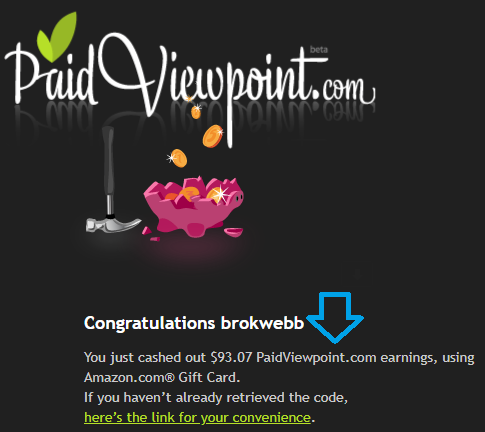 paidviewpoint march payment proof